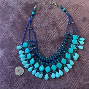 Turquoise Cleopatra Necklace